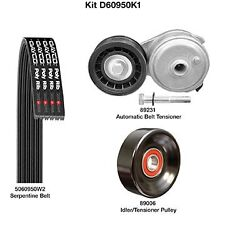Dayco D60950K1 Serpentine Belt Drive Component Kit