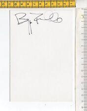 43437 Autografo su cartoncino 085 - Beppe Fiorello (attore)