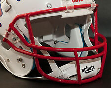 Schutt Super Pro OPO Football Helmet Facemask / Faceguard SCARLET (RED)