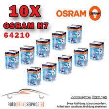 10x OSRAM HALOGEN-LAMPE H7 SET ORIGINAL LINE 55W/12V STANDARD GLÜHBIRNE  64210