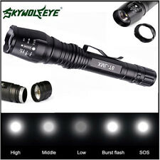 12000LM Zoomable XM-L T6 LED Flashlight Torch Super Bright Light Taschenlampe