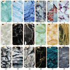 New Hard Printed Marble Patterned Back Case Cover For iPhone 5c 5/s SE 6/s Plus
