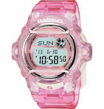 Casio Baby G Ladies Watch BG-169R-4ER Pink Alarm Chronograph
