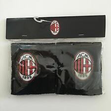 AC Milan Sarragan Black Wristbands BNWT Sweatbands Brand New ACM FC s m l xl xxl