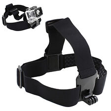 US Head Strap Mount Belt Elastic Headband for GoPro HD Hero 2/3 Camera Eager