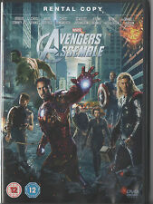 AVENGERS ASSEMBLE - MARVEL - RENTAL COPY - UK RELEASE - NOT SEALED BUT BRAND NEW