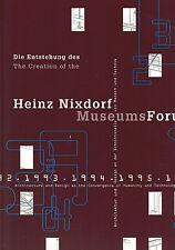 Entstehung creation Heinz Nixdorf MuseumsForum, Computer-Museum Paderborn, 1997