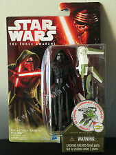 Star Wars The Force Awakens Kylo Ren 3.75 Inch Action Figure Hasbro B RARE