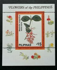 Philippines Orchids Medinilla Magnifica 1998 Flower Flora Plant (miniature) MNH