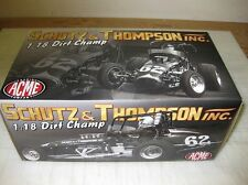 ACME 1:18 Schutz & Thompson - DIRT CHAMPS  CASE NEW - OUTSTANDING DIECAST !!!