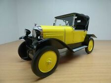 CITROEN 5CV jaune & noir 1922 1/18 type C 5HP