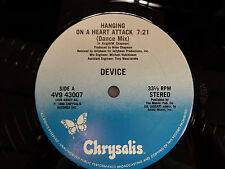 DEVICE Hanging on a Heart Attack 33RPM 030116 TLJ