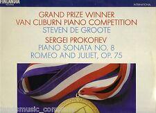 STEVEN DE GROOTE : PROKOFIEV - PIANO SONATA NO. 8 [LP vinyl FINLANDIA FA 309]