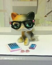 Littlest pet shop accessories GLASSES TABLET PHONE Earrings No LPS Pet Lot of 4