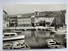 CHERSO CRES Piazza porto Dalmazia Quarnero vecchia cartolina AK Croazia