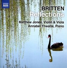 NEW Britten: Reflections by Matthew Jones [viola] Annabel Thwaite CD (CD)