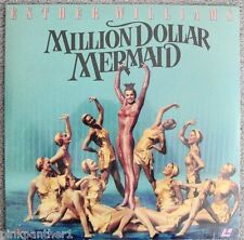 MILLION DOLLAR MERMAID Esther Williams as  Annette Kellerman Story NEW Laserdisc