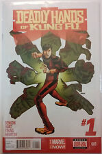 Deadly Hands of Kung Fu #1-4 (2014, Marvel) Benson/ Huat NM complete mini series