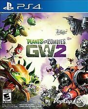PS4 Plants vs Zombies Garden Warfare 2 II GW2  NEW Sealed Region Free USA Game