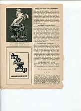 White Horse Scotch Whisky Ad 1950's Original Vintage Ad