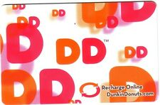 Dunkin' Donuts Coffee shop collectible MINT GIFT CARD NO VALUE limited edition !