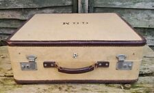 "BEAUTIFULLY FITTED LARGE VINTAGE REVELATION ""REV ROBE"" TRAVEL WARDROBE SUITCASE"