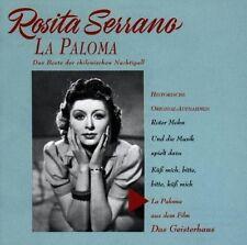 Rosita Serrano La paloma-Das Beste der chilenischen Nachtigall (12 tracks) [CD]