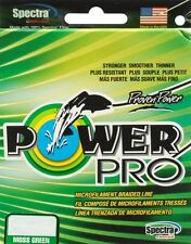 POWER PRO BRAIDED LINE POWERPRO GREEN MOSS 10LB-300YD