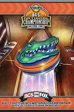 Florida Gators 2007 Bcs National Championship Bowl Game Dvd by