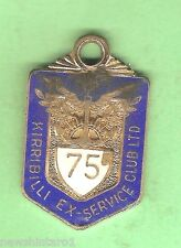 #D63. KIRRIBILLI  EX-SERVICE   CLUB  MEMBER  BADGE 1975  #1529
