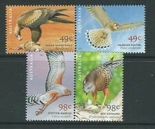 AUSTRALIA 2001 CENTENARY OF BIRDS AUSTRALIA UNMOUNTED MINT, MNH