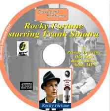 ROCKY FORTUNE,  Frank Sinatra - 25 Private Detective old time radio OTR CD MP3