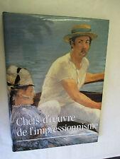 """Laurence Madeline """"Chefs-d'oeuvre de l'impressionnisme"""" / Le Grand Livre du Mois"""