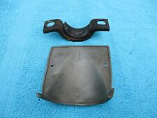 1965 PONTIAC CATALINA STEERING COLUMN DASH COVER AND CLAMP 9779311