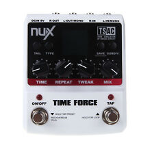 Guitar Effect Pedal High quality 11 Delay Effects By NUX TIME FORCE