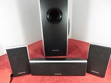 Samsung PS-WQ70 H/T System Sub-woofer/Center/2 Front Speakers PS-CQ70/PS-FQ70