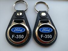 F-350  2 PACK OF Keychains black