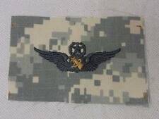 Genuine ACU US Army ASTRONAUT WINGS Cloth Uniform Badge