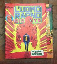 UOMO RAGNO GIGANTE nr. 19 - ed. CORNO