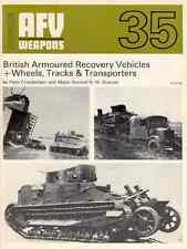 AFV Weapons Profile 35 - British Armoured Recovery Vehicles e Wheels-Track - DVD