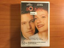 Bounce VHS Video with Ben Affleck & Gwyeth Paltrow