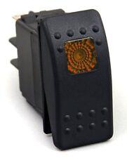 20 Amp Amber Light Rocker Switch Kit