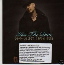 (708U) Gregory Darling, Kiss The Pain - DJ CD