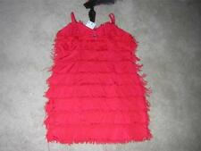 FREDERICK's of HOLLYWOOD Sexy FRINGE FLAPPER Costume Women's Sz LARGE NWT