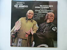 GILBERT & SULLIVAN The Mikado without dialogue The D ' Oyly carte opera company