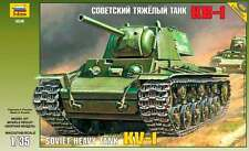ZVEZDA 3539 SOVIET HEAVY TANK KV-1 WWII SCALE MODEL KIT 1/35 NEW