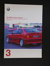 BMW 3 SERIES COMPACT1997 SALES BROCHURE