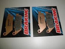 BRAKING 2 COPPIE PASTIGLIE FRENO ANTERIOR SUZUKI 650 BURGMAN ABS EXECUTIVE 2013