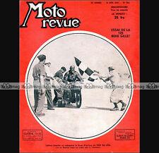 MOTO REVUE N°985 RENE GILLET 125, SURALIMENTATION, BOL D'OR LEFEVRE 1950