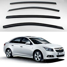 New Smoke Window Vent Visors Rain Guards for Chevrolet Cruze 4door 2011-2012
